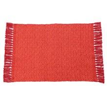 Tapete Étnico Losango Vermelho com Laranja 40x60cm