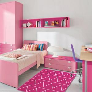 Tapete Fashion Rosa Pink 1,00x1,50m