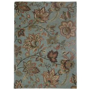 Tapete Flores Azul 1,50x2,00m