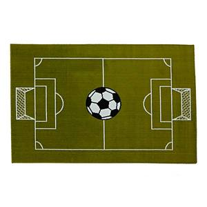 Tapete Infantil Campo Futebol Verde 1x1,50 m Indústria Tapete Infantil