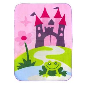 Tapete Infantil Cleankasa Ultraloop Frog 0,75x1m  Kapazi
