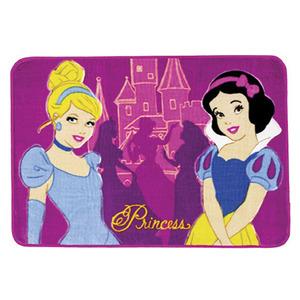 Tapete Infantil Encanto Princesas Rosa 0,80x1,20m