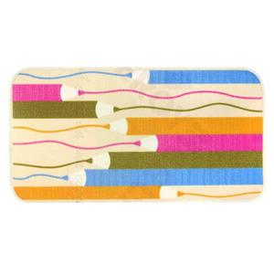 Tapete Infantil Poliamida Pencil Colorido Kapazi 1,00x0,50m