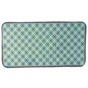 Tapete Infantil Poliamida Pixel Verde Kapazi 1,00x0,75m