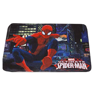Tapete Infantil Spiderman Colorido 0,50x0,75m
