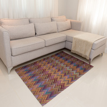 Tapete Jacquard Shanti Amarelo 1,35x1,35m