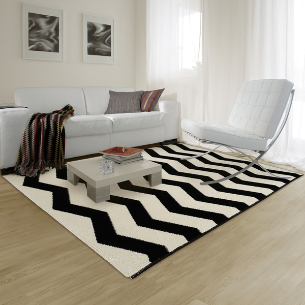tapete missoni preto e branco 1 50x2 00m inspire leroy merlin. Black Bedroom Furniture Sets. Home Design Ideas