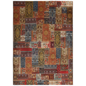 Tapete Patchwork Cash Colorido 2,00x2,50m