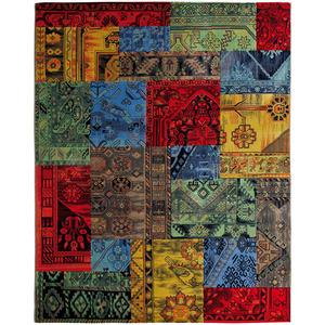 Tapete Patchwork Fantasia Colorido 2,00x2,50m