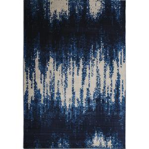 Tapete Polipropileno Drops Royal Azul São Carlos 2,50x2,00m