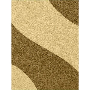 Tapete Polipropileno Mirage Waves Bege J. Serrano 2,00x1,50m
