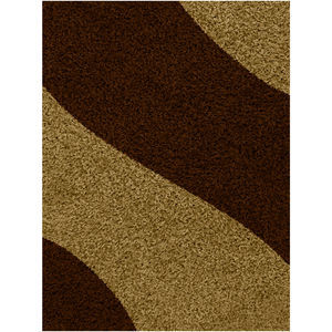 Tapete Polipropileno Mirage Waves Marrom J. Serrano 2,00x1,50m