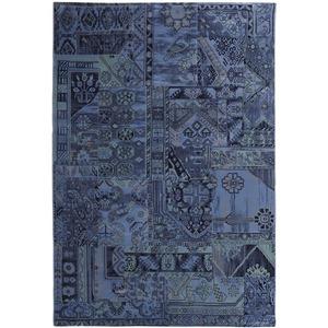 Tapete Polipropileno Patchwork Royal Azul São Carlos 2,00x1,50m