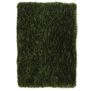 Tapete Polipropileno Shaggy Inspire Verde Importado 3,00x2,00m