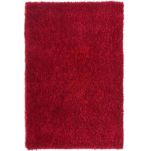 Tapete Polipropileno Shaggy Inspire Vermelho Importado 1,50x1,00m