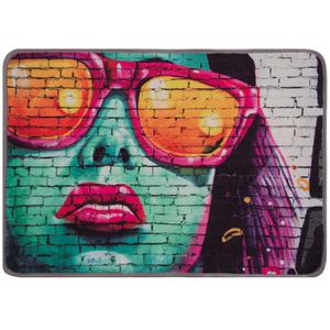 Tapete Raschel Digital Grafite 70x100cm