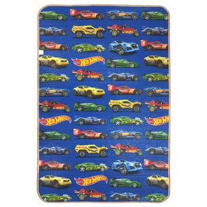 Tapete Recreio Hot Wheels Azul 1,20x1,20m
