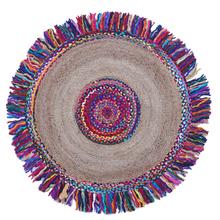 Tapete Redondo Nova Deli Multicolorido 150cm