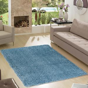 Tapete Shaggy Lisciare Azul 1,00x1,50m