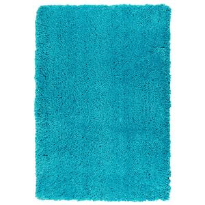 Tapete Shaggy Lisciare Azul Turquesa 1,50x2,00m