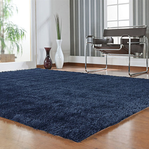 Tapete Shaggy Lucca Azul 1,50x2,00m