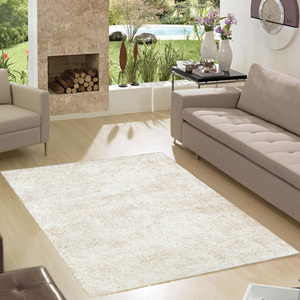 Tapete Shaggy Lucca Branco 1,50x2,00m