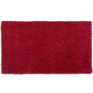 Tapete Shaggy Lucca Vermelho 0,50x1,00m