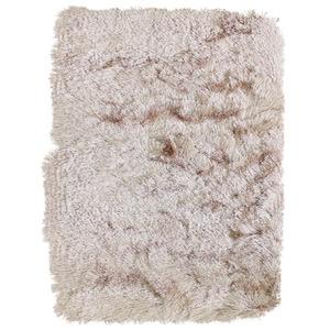 Tapete Silk Shaggy Bege 1,00x1,50m