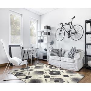 Tapete Tecido Grey & White Delicatu 1,20x0,66m