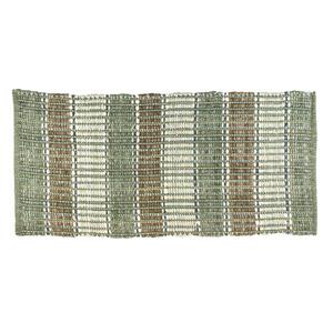 Tapete Trancado Verde 0,50x1,00m
