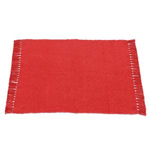 Tapete Yangui Vermelho 50x90cm