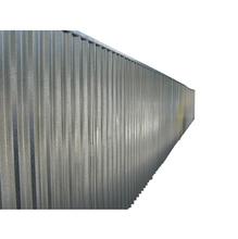 Tapume Metálico Aço Galvanizado para Fechamento de Obra em Módulo 2x2,20m Calhaforte
