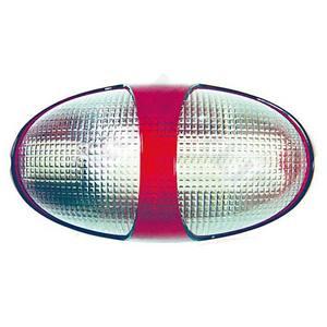 Tartaruga ARXPlástico e Policarbonato Oval Vermelha Baxton