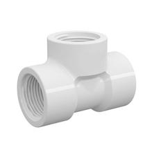 "Tê 90° Branco PVC Água Fria 32mm ou 1"" Plastilit"