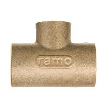 """Tê de Redução Cobre Liso Água Quente e Fria 22x15mm ou 3/4""""x1/2"""" Ramo"""