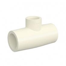 """Tê de Redução CPVC Liso Água Quente e Fria 22mmx15mm ou 3/4""""x1/2"""" Tigre"""