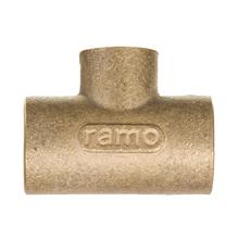 """Tê de Redução Latão Liso Água Quente e Fria 35mmx28mm ou 1.1/4""""x1"""" Ramo"""