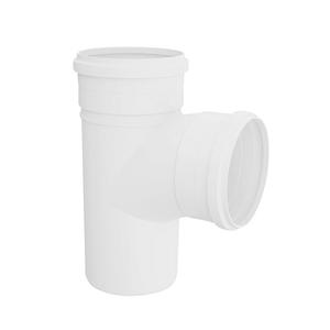 """Tê PVC Esgoto 40mm ou 1.1/2"""" Plastilit"""