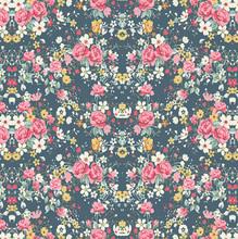 Tecido Adesivo Primavera Colorido 45x300cm
