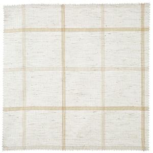 Tecido Linho Xadrez Bege/Branco 2,90m Corttex
