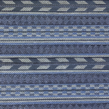 Tecido Persan Estampa Jacquard Azul