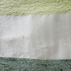 Tecido por Metro Desenho Listra Cru/Verde 2,90m Tapecol