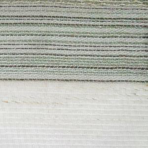 Tecido por Metro Listradinho Cru/Verde 2,90m Tapecol