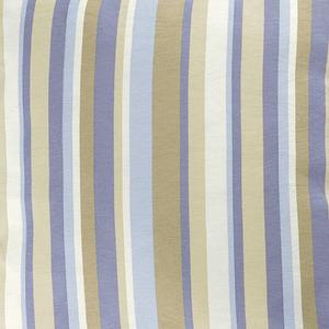 Tecido Verona Kohima Listrado Bege/Azul 1,40m Karsten
