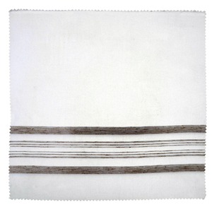 Tecido Voil Listrado Branco 2,80m Corttex