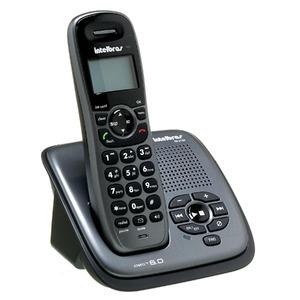 TELEFONE SEM FIO INTELBRAS TS 6130 COM IDENTIFICAÇÃO DE CHAMADAS, VIVA-VOZ E SECRETÁRIA ELETRÔNICA (BIVOLT)