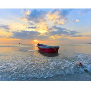 Tela Canvas 40X50 Alone In The Sea Inspire