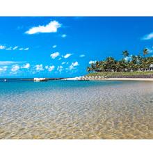 Tela Canvas 40X50 Blue Beach Inspire