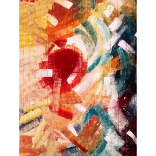 Tela Canvas Abstract Wall 40x30 Inspire