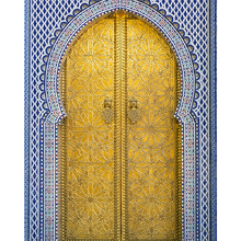 Tela Canvas Golden door 50x40 Inspire